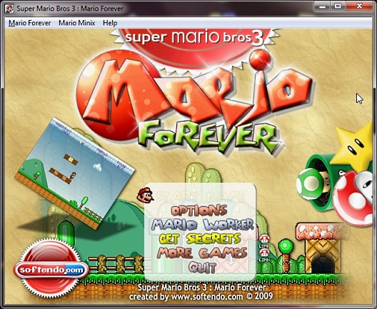Super Mario Bros 3:  Mario Forever.