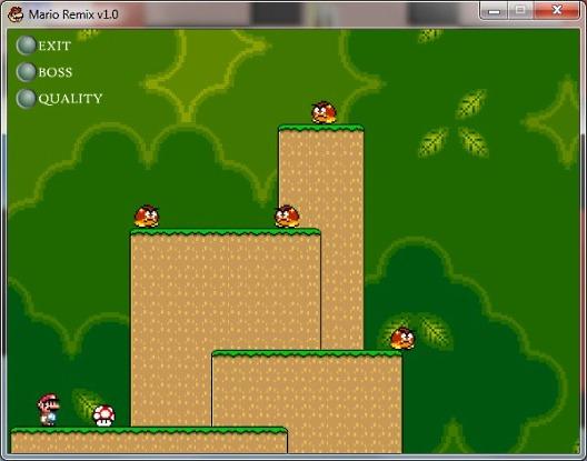 Классический SuperMario от Mario Remix