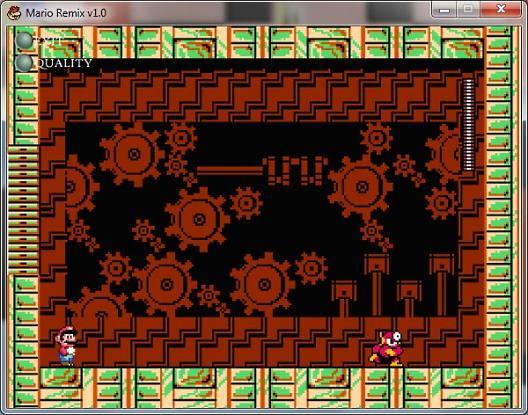 Битва с боссами Mario Remix