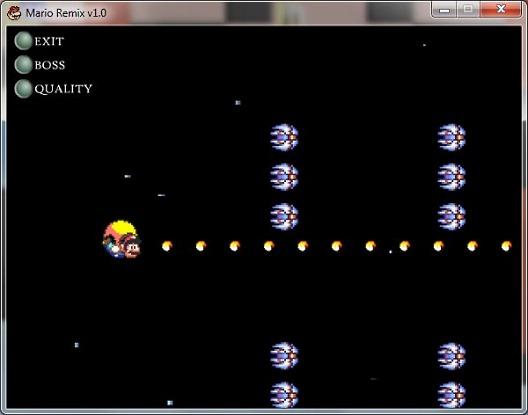 Космический шутер Mario Remix